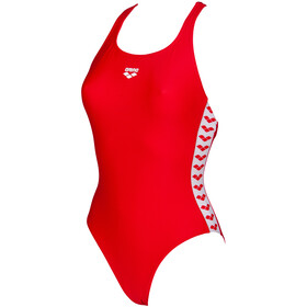arena Team Fit Racer Back Costume Da Bagno Intero Donna, red